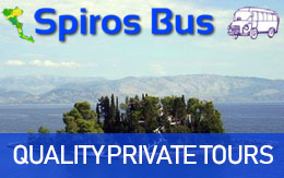 Spiros Bus - Private Mini Bus tours in Corfu