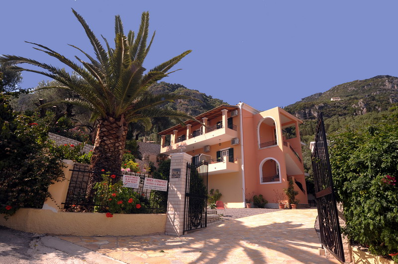 Rhea Studios and apartments in Paleokastritsa, holidays in paleokastritsa